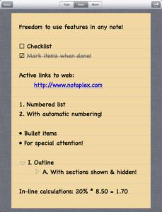 listsnotes